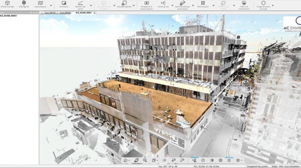 Le centre de Roanne en 3D